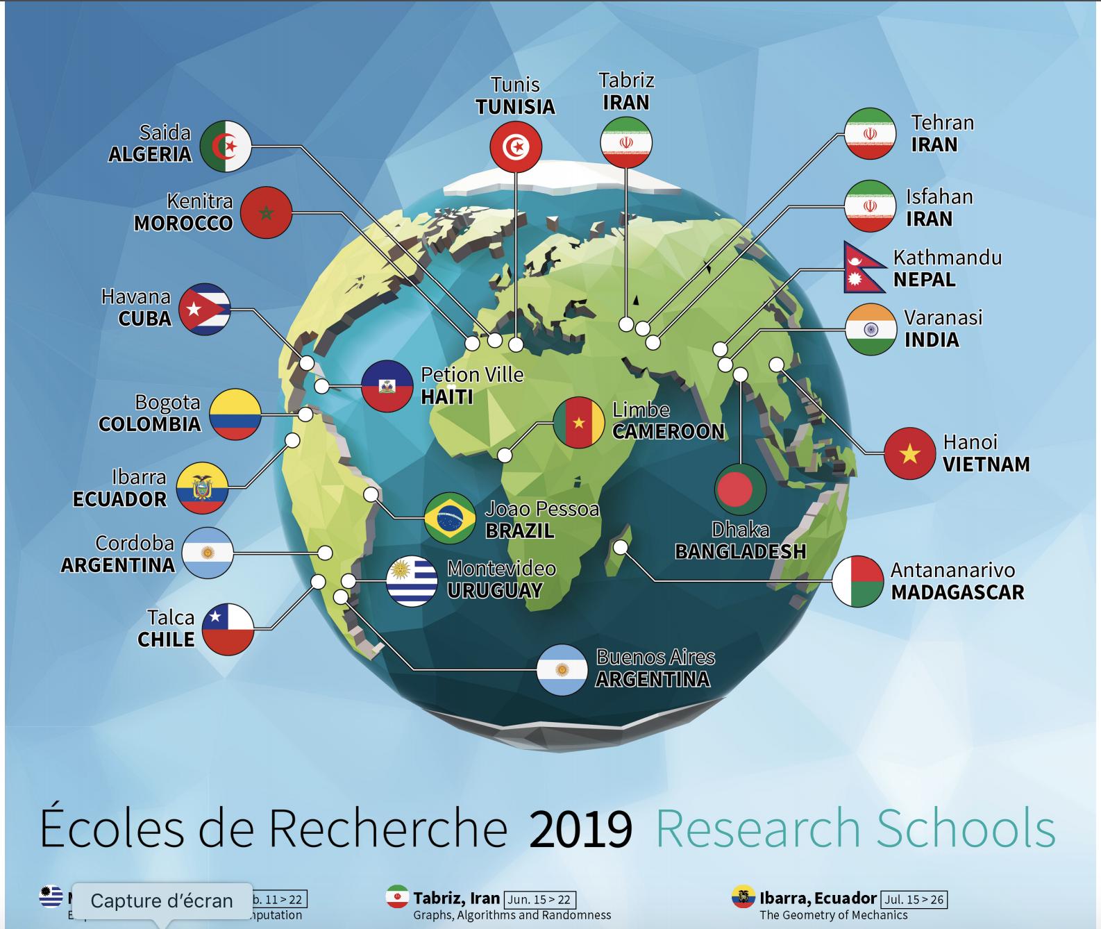 Ecole CIMPA Kenitra 2019