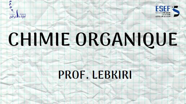 Chimie Organique 2