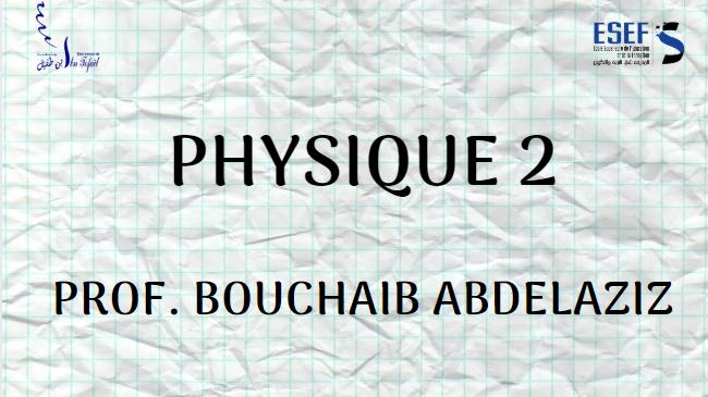 Physique 2