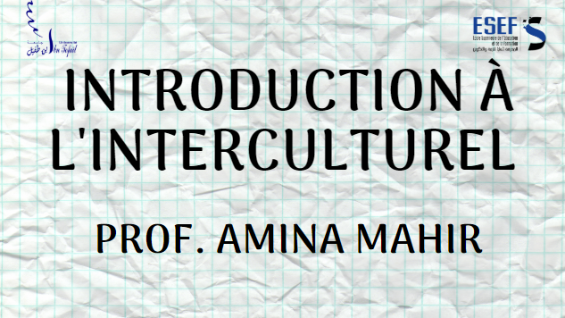 Introduction à l'interculturel